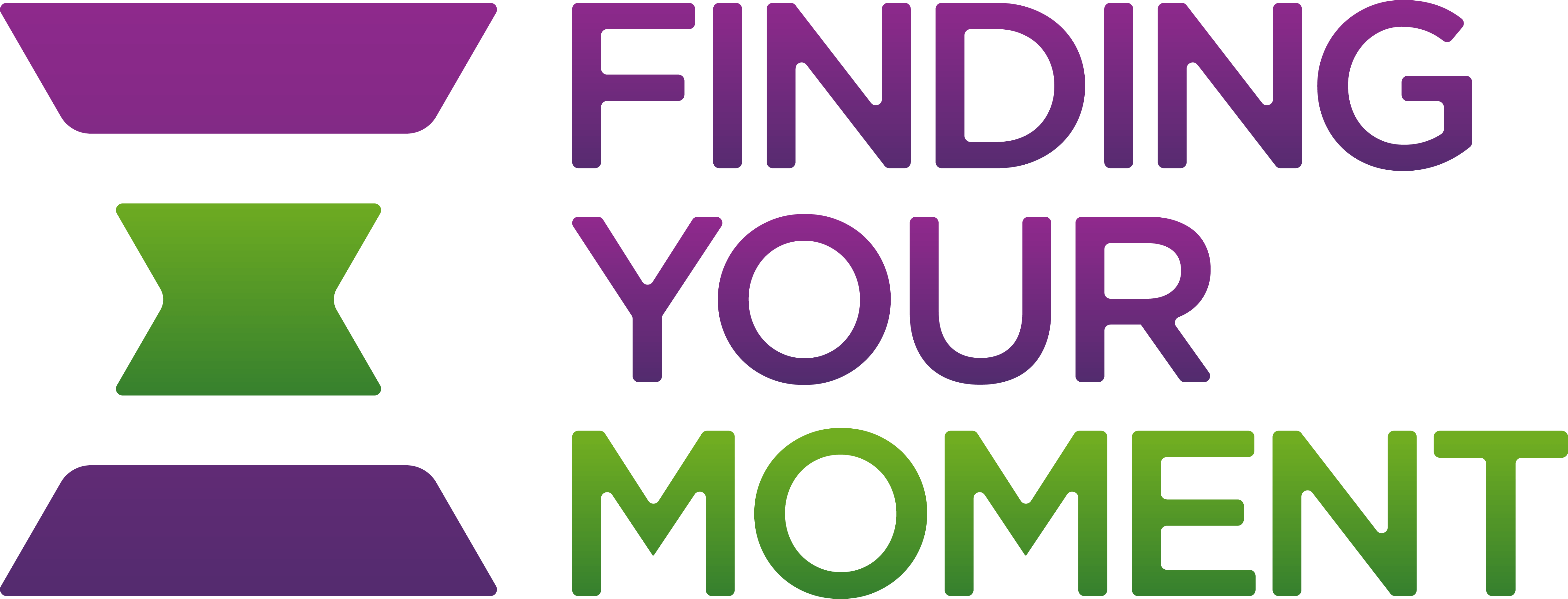 finding your moment logo no tagline